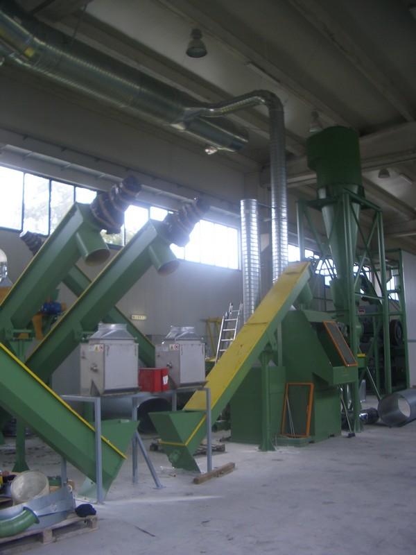 trasportatori materiale a coclea