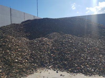 rifiuti prima di smaltimento su impianti rsu hms100