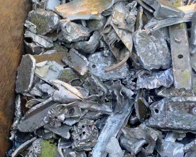materiale in uscita impianto trattamento alluminio