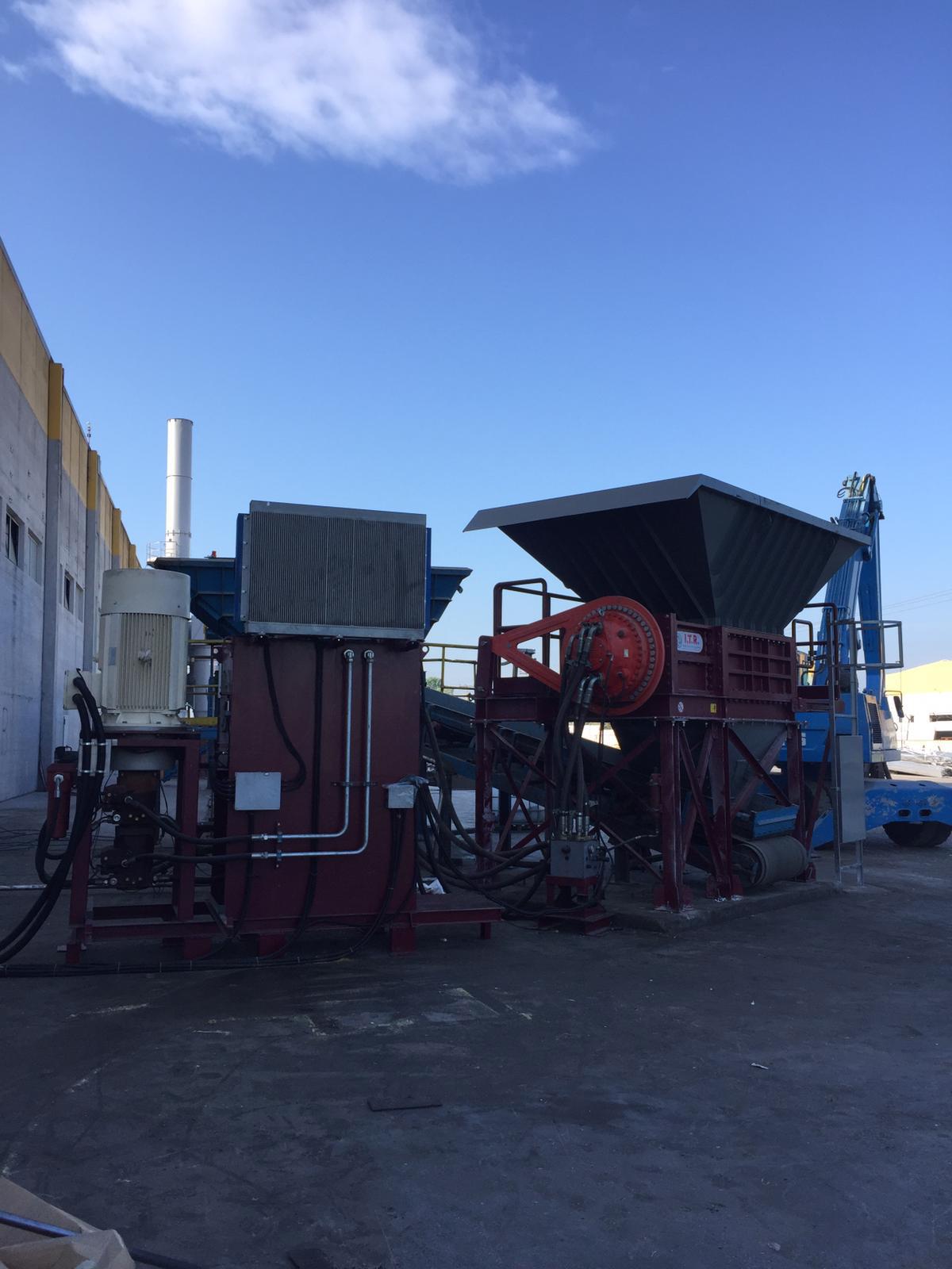 impianto riciclo rifiuti