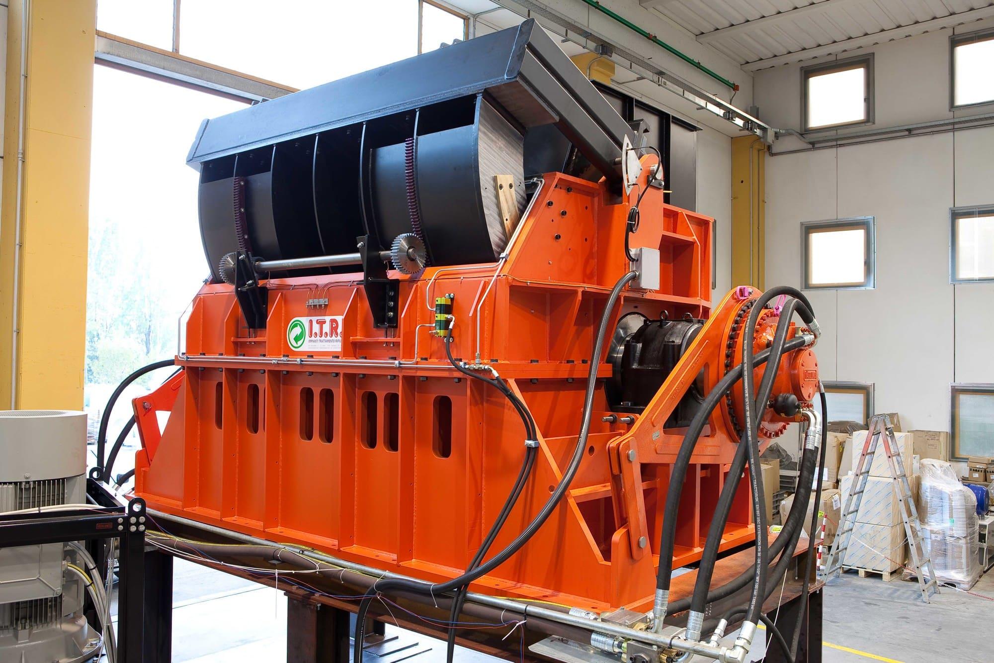 Macchina smaltimento e riciclo rifiuti ITR Omar Impianti