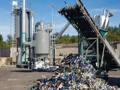 impianto smaltimento rifiuti