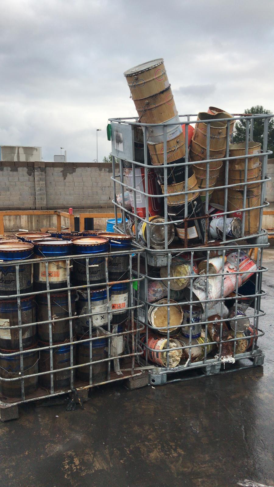 materiale input smaltimento rifiuti