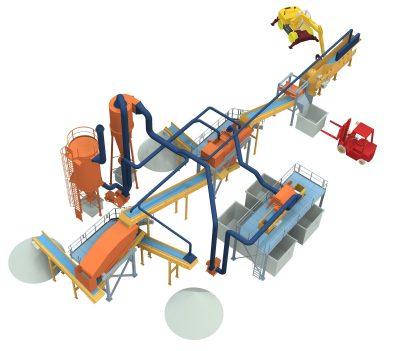 impianto-raffinazione-compost-3d