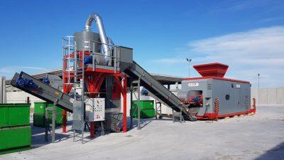 Impianto trattamento metalli