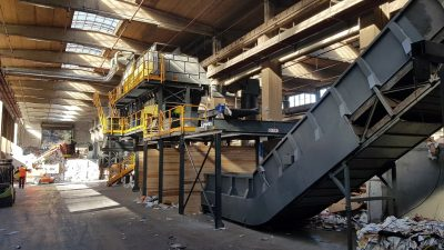 Impianto riciclo e smaltimento rifiuto ITR Omar Impianti