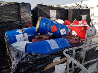 materiale input impianto smaltimento rifiuti pericolosi