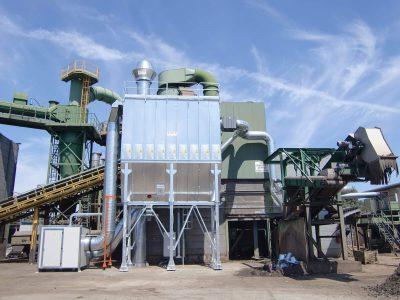 impianto smaltimento e riciclo rifiuti