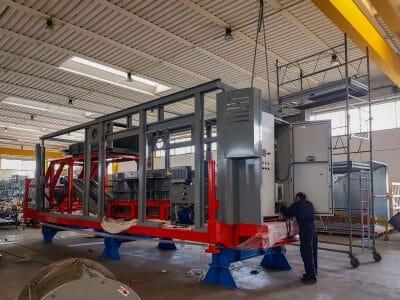 Produzione interna di un impianto per lo smaltimento rifiuti